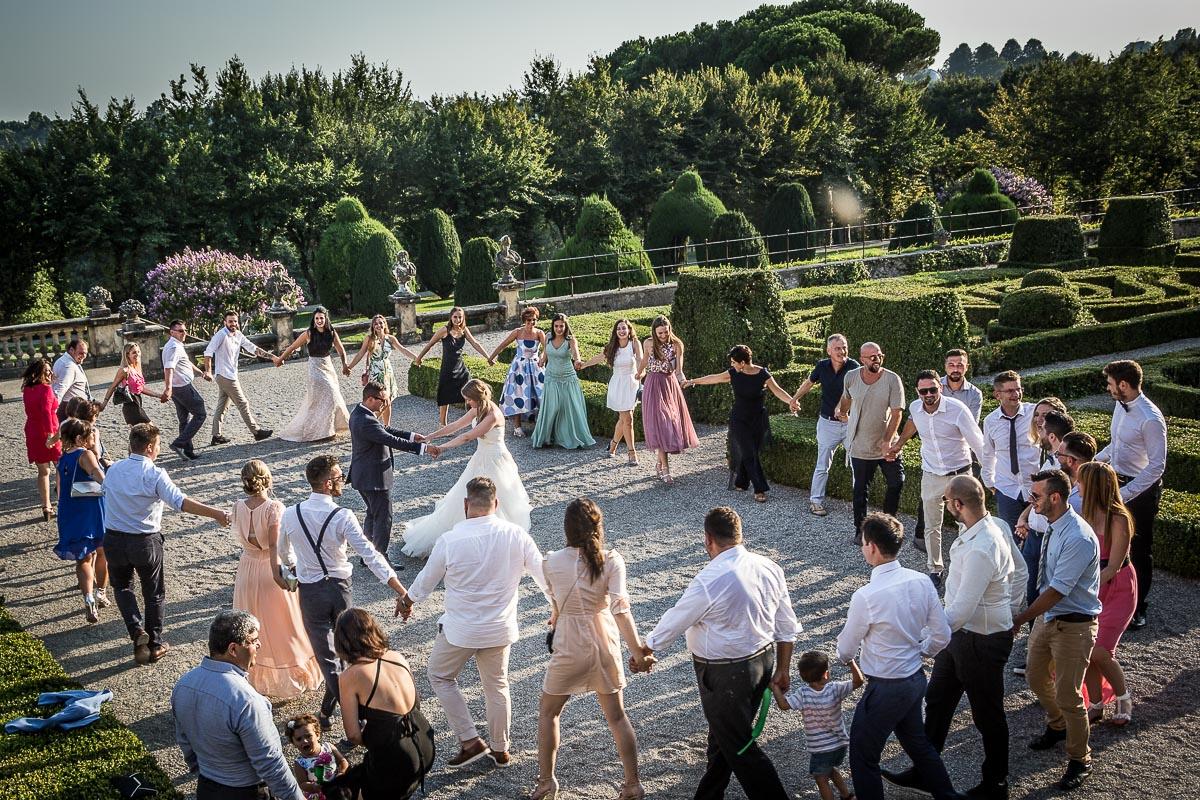 fotografie nozze con amici